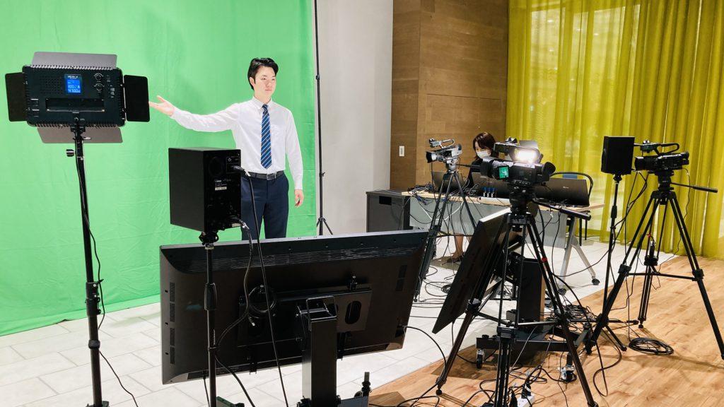 トラストシティ カンファレンスに、配信スタジオ がオープン